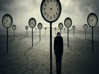 Đồng hồ biểu tượng cho thời gian của con người